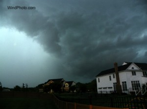 olneytorn3editb 300x224 Local Chaser Intercepts Montgomery Co. Tornadic Storm