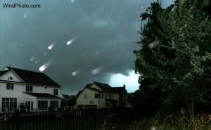Local Chaser Intercepts Montgomery Co. Tornadic Storm