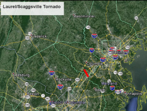 Screen Shot 2015 10 08 at 8.55.55 AM 300x227 Laurel,Md. Tornado